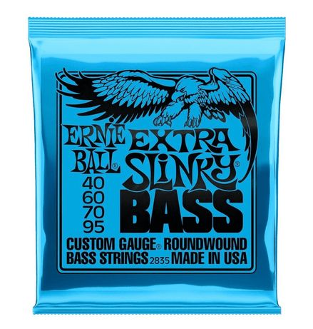 ERNIE BALL 2835 - struny do gitary basowej 45-95