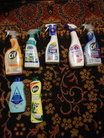Środki do czyszczenia(łazienki i kuchni)