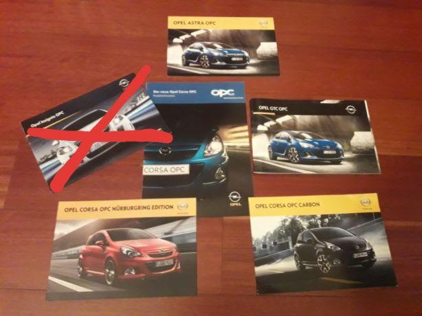 Opel Opc - Catálogos