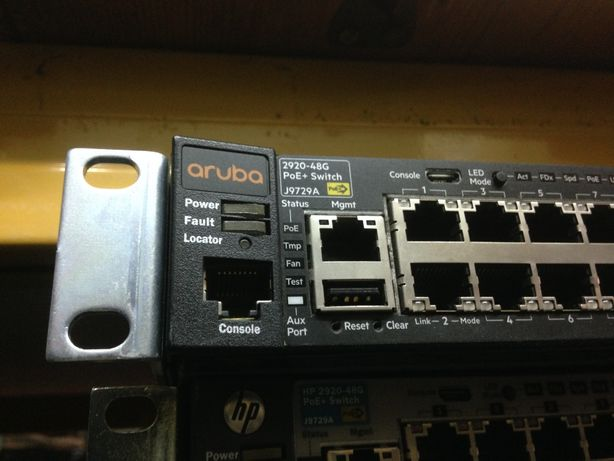 Hp Aruba 2920 48G POE+ Switch (J9729A)