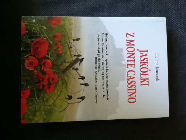 Jaskółki z Monte Cassino Helena Janeczek