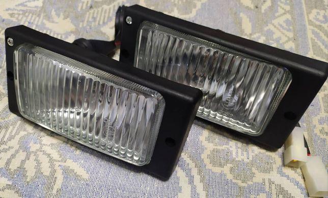 фары противотуманные ВАЗ 2110-14 противотуманки пара с лампами