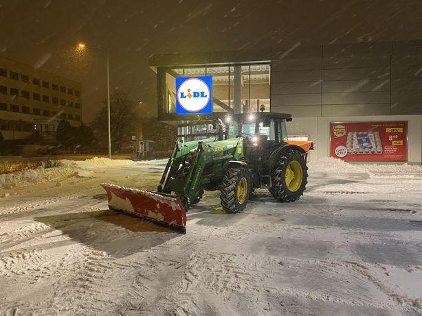 Usługa odśnieżania, parkingi,place,wywóz śniegu Jawor,Legnica,Strzegom