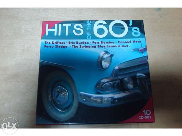Conjunto 10 cds hits of the 60 ´s