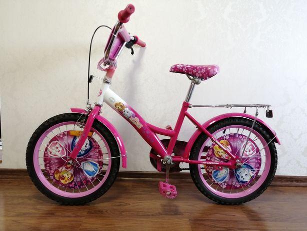 Велосипед  дитячий для дівчинки.