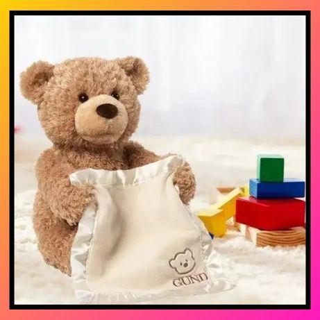 Говорящий мишка «Пикабу», играющий с ребенком в прятки!