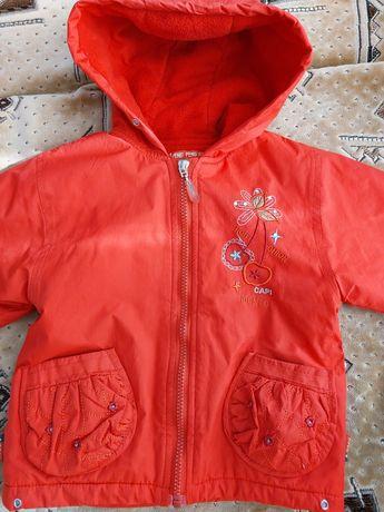 Детская демисезонная курточка для девочки