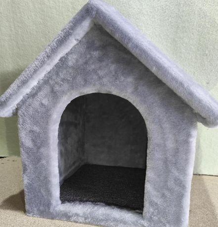Будка домик из меха для собаки . Ручная работа. Daisy-261
