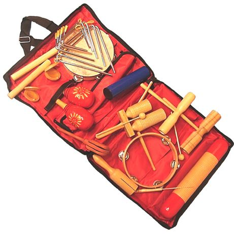 Velton ZP-17 to zestaw 17 instrumentów perkusyjnych