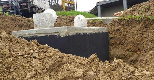 Szamba-Zbiorniki betonowe 10m3 kanały samochodowe piwniczki