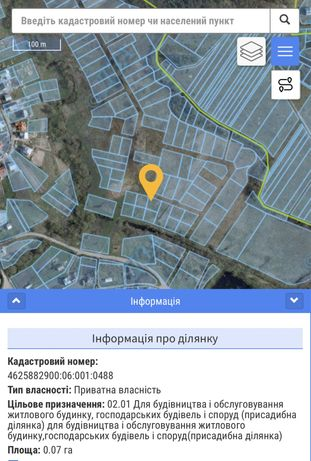 Ділянка біля річки 4 км від м.Львів!