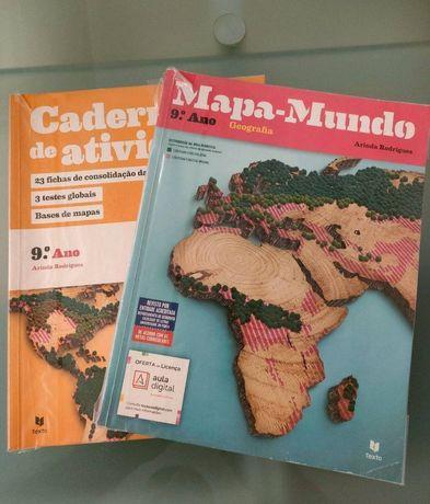 "Manual Escolar Geografia 9. Ano ""Mapa Mundo"""