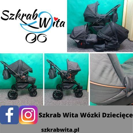Wózek Darex Matrix 3w1 nieużywany , powystawowy wysyłka SZKRAB WITA