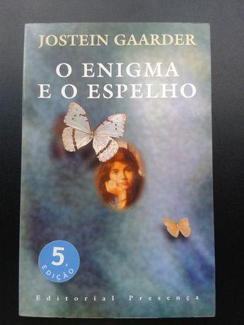 """Livro - """"O enigma e o espelho """" de Jostein Gaarder"""