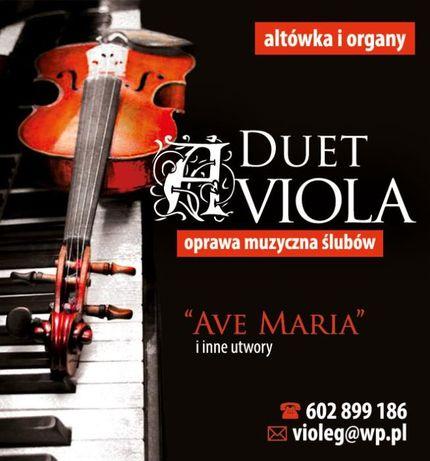 Duet AVIOLA oprawa muzyczna ślubów