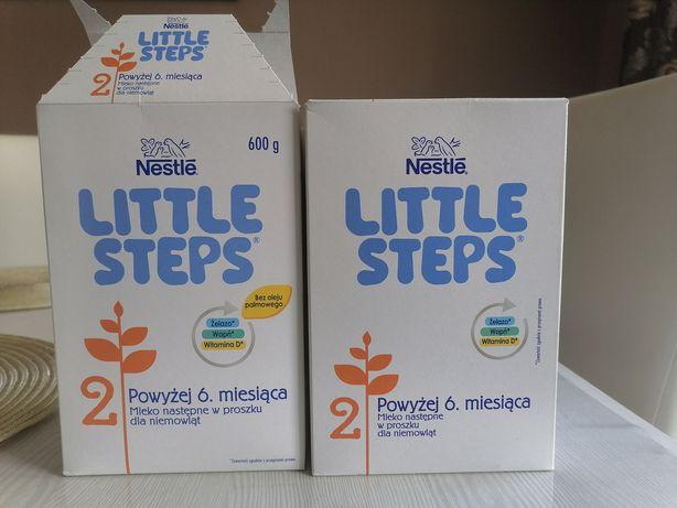 Sprzedam mleko Little steps 2, półtorej opakowania