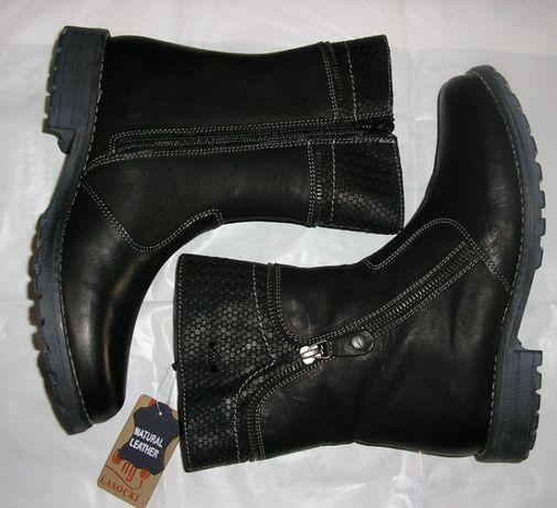 Зимові чоботи дівочі LASOCKI YOUNG чорні (EUR36)