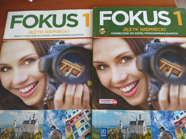 Fokus 1, j niemiecki. Ćwiczenia i podręcznik.