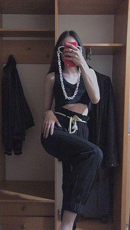 Штаны со шнурком