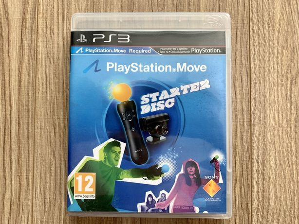 Playstation Move Starter Disc 5 gier PS3
