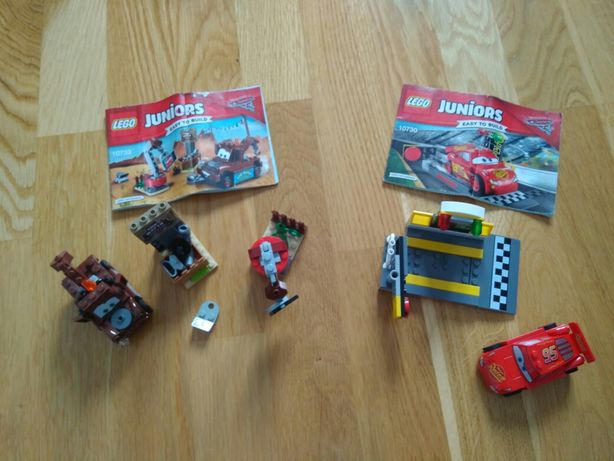 LEGO Juniors Auta Katapulta Zygzaka McQueena (10730) + 10733 gratis