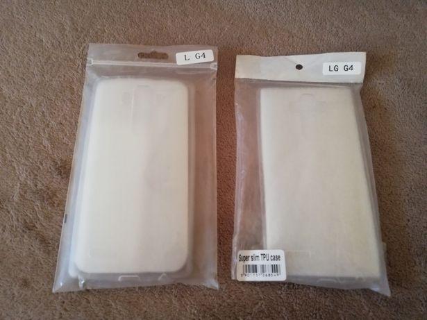 Nowe: 2x etui żel Slim 0.3 mm przezroczyste do LG G4