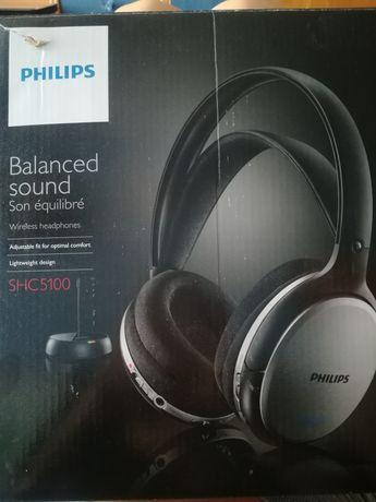 Słuchawki bezprzewodowe Philips nowe nieużywane