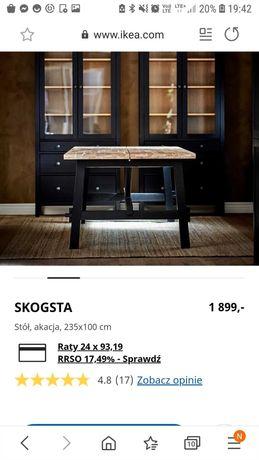 Nowy stół Ikea SKOGSTA przepiękny!!!