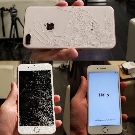 ORYGINALNY wyświetlacz do Iphone 7 7+ 8 8 plus 100% ekran dotyk szybka