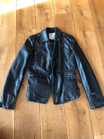 Ramoneska kurtka S 34 czarna