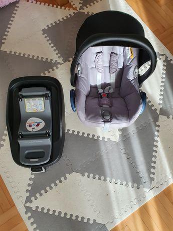 Fotelik nosidełko Maxi Cosi Cabriofix Nomad Grey + baza FamilyFix