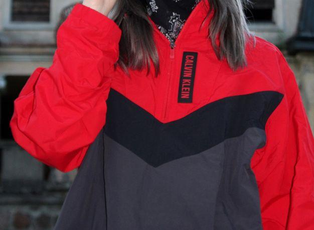 CALVIN KLEIN Performance kurtka męska bluza M przeciwdeszczowa