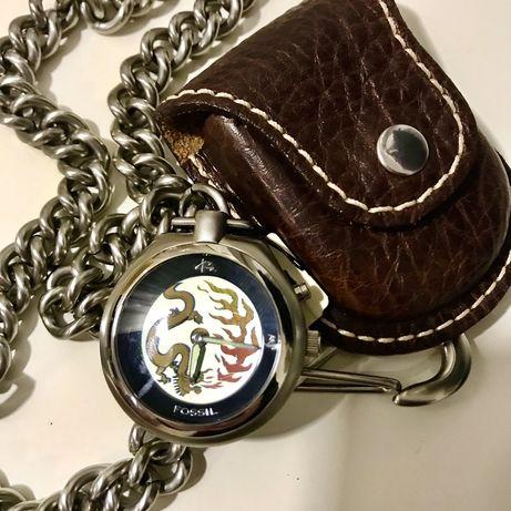 Fossil zegarek unisex + kabura