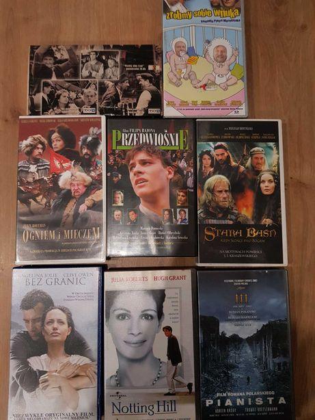 Komplet filmy bajki na kasetach VHS