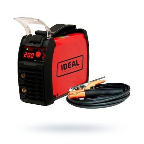 Spawarka inwertorowa Ideal Praktik 205 Digital 200A elektrodowa do 4,0