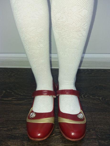 Туфли на девочку 36р.(22,5см)