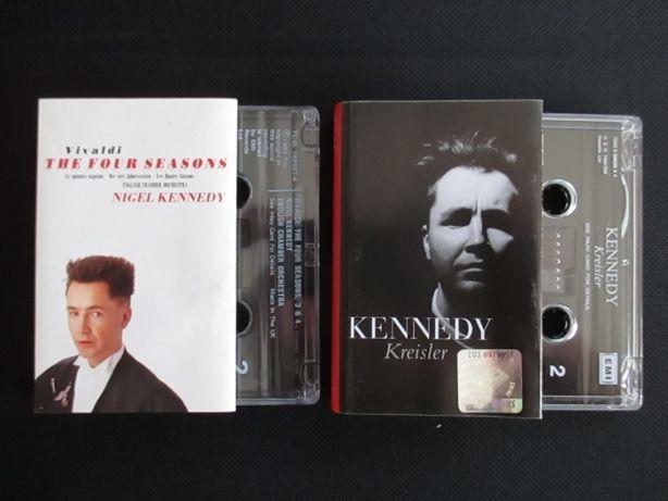 Dwie kasety Nigel Kennedy