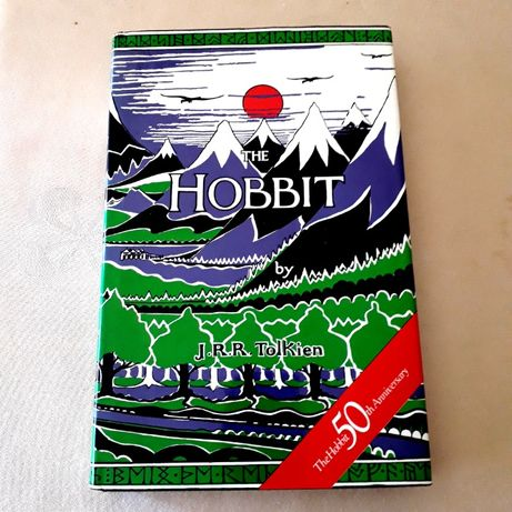 J R R Tolkien - The Hobbit - BCA Edition 50th Anniversary HB 1987