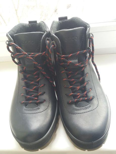 Ботинки кожаные мужские, ECCO. Оригинал. Новые. Демисезонные.