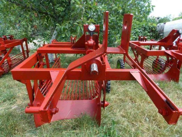 Тракторная картофелекопалка КТМ-1С (смещенная) Захват 45см