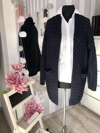 Granatowy sweter Quiosque rozm 46