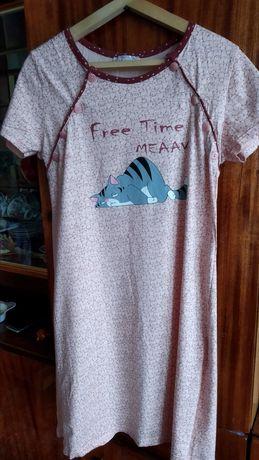Ночная рубашка для кормления, комплект ночнушка для кормления