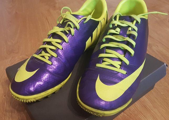 buty piłkarskie, Nike MERCURIAL VELOCE TF Korki Turfy fioletowe