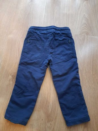 Spodnie ocieplane Coccodrillo r. 92
