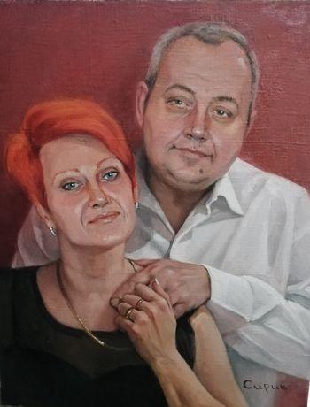 Портрет по фото, портрет на заказ, рисунок/живопись