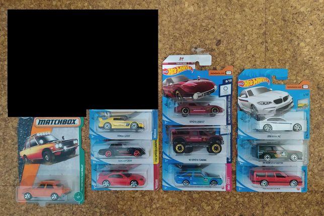 Hot Wheels Honda, Toyota, Nissan, Datsun, Volvo, Audi, Bmw, VW...