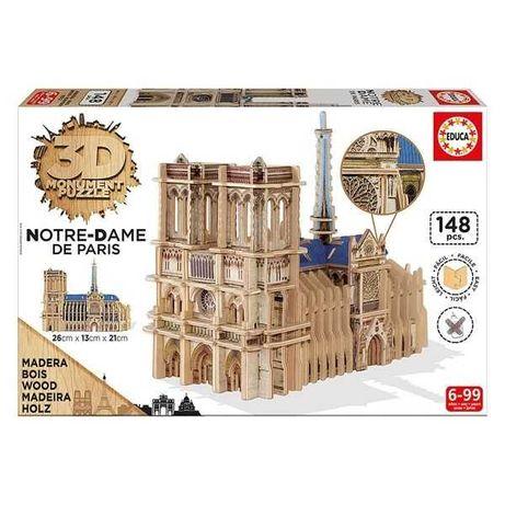 Educa 3D Monument Puzzle Notre Dame de Paris