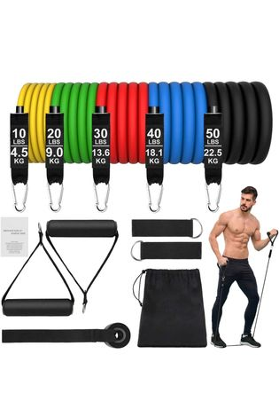 Bandas elásticas Fitness Resistência 67,5 (150lbs) - NOVO