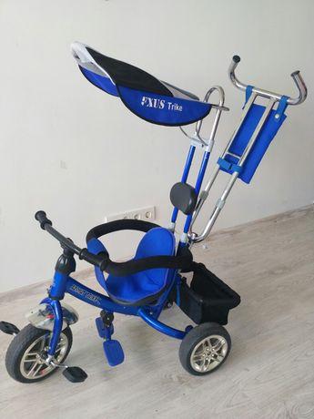 Lexus Trike детский велосипед трех колёсный синий