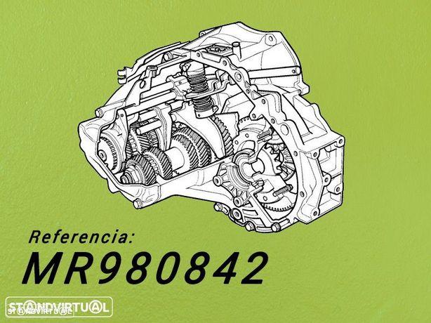 Montagem Caixa de Velocidades Reconstruida MITSUBISHI L200  2.5 Tdi de 2005 Ref: MR980842